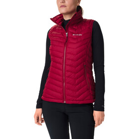 Columbia Powder Lite bodywarmer Dames, beet